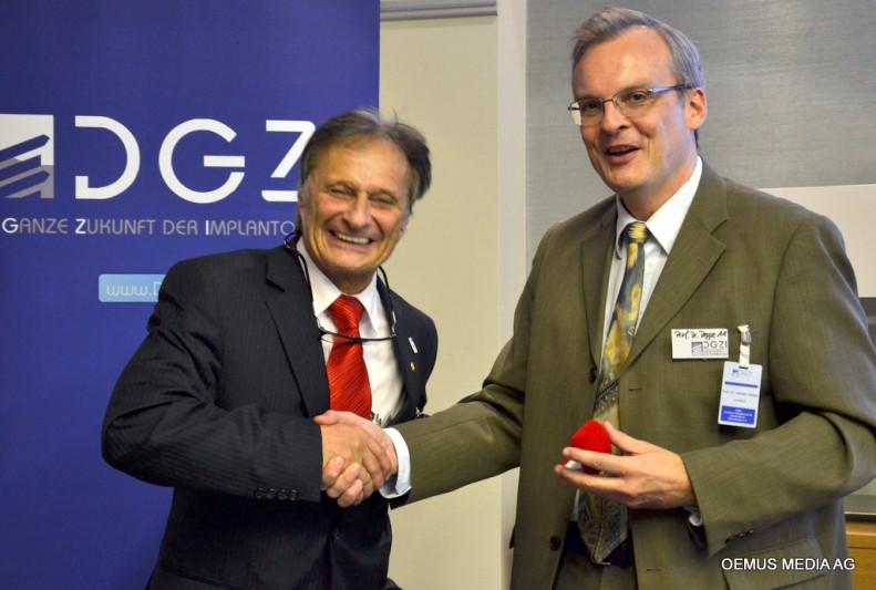 Dr. Rainer Valentin und Dr. Rolf Vollmer