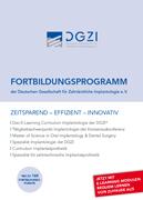 Das neue Curriculum der DGZI