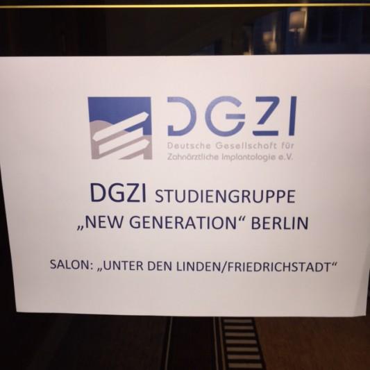Die Hauptstadt Implantologen auf DGZI-Studiengruppenkurs!