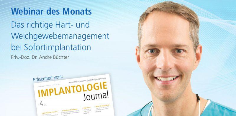 Das richtige Hart- und Weichgewebemanagement bei Sofortimplantation